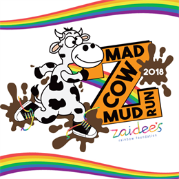 Mad Cow Mud Run - Kids 3yrs to 12yrs Event 2018