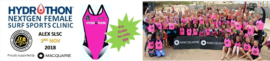 Sunshine Coast Hydrothon All Female Surf Clinic