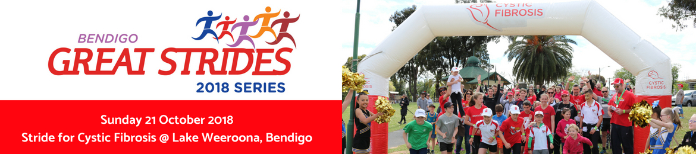 Great Strides Bendigo 2018