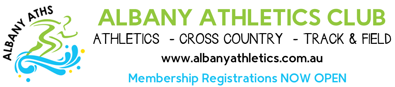 2020/2021 Albany Athletics Club Membership