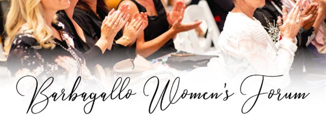 Barbagallo Women's Forum 9th and 16th Nov 2019