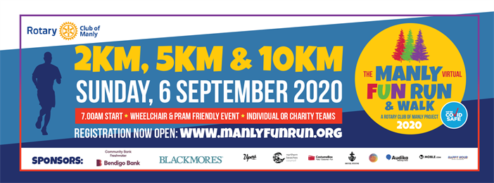 2020 Manly Fun Run & Walk