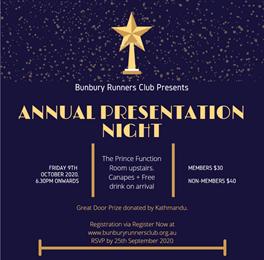 BRC 2020 Presentation Night