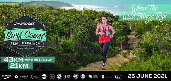 Brooks Surf Coast Trail Marathon 2021