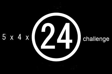 5 x 4 x 24 challenge