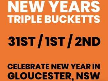 New Years Eve TRIPLE Bucketts Event
