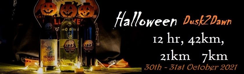 Halloween Dusk 2 Dawn Trail Run 2021