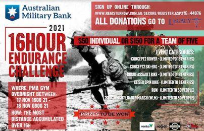 Puckapunyal 16 HOUR Endurance Challenge 2021