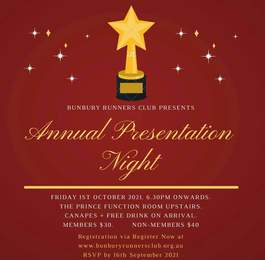 BRC 2021 Presentation Night
